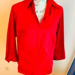 Investments Tops - Investments Button Down Shirt 1X